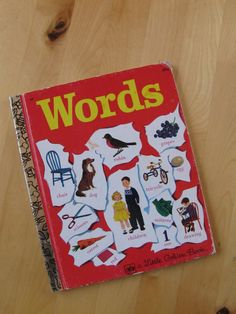 A Little Golden Book  Words by TheBigBlueMarble on Etsy