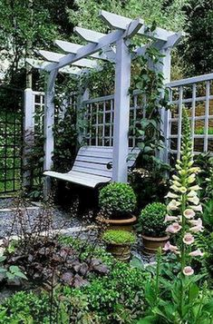There are lots of pergola designs for you to choose from. First of all you have to decide where you are going to have your pergola and how much shade you want. Romantic Backyard, Garden Arbor, Garden Swings, Gravel Garden, Garden Shrubs, Garden Pond, Beer Garden, Garden Boxes, Garden Cottage