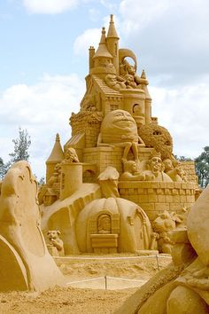 Storybook Sand Sculpture