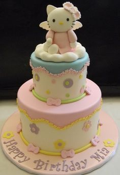 Hello Kitty Angel on Cake Central