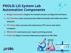PROLIS is configured to your Lab's workflow specifications. Enhance your Lab's connectivity and learn more. #PROLIS #LIS #LIMS #labinformationsystem #labautomation Laboratory Information Management System, Strive Harder, Data Integrity, Lab Report, Business Intelligence, Dna Test, Cloud Based, High Level, Clinic