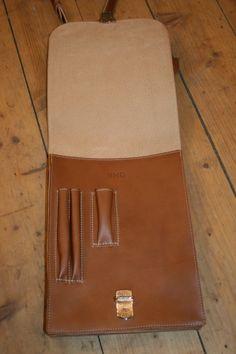 """Umhängetasche """"Siegmund"""" Passport, Messenger Bag, Bags, Leather"""