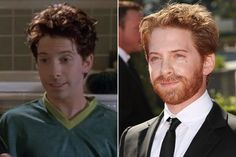 seth green is an alien. He's looked the same since IT was made in early Can't Hardly Wait, Seth Green, Celebrities Then And Now, Buffy The Vampire Slayer, Aging Gracefully, My Crush, Famous People, Actors & Actresses, Sexy Men