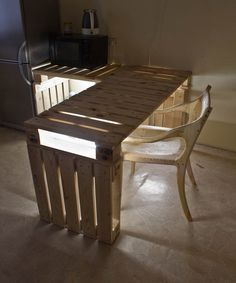 Rustic pallet table - by Andrius_Sta @ LumberJocks.com ~ woodworking community