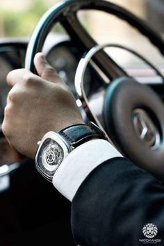 "watchanish: "" Right moves. (SevenFriday) and (Mercedes). Car belongs to Ian Goddard :) "" Cool Watches, Watches For Men, Men's Watches, Men's Backpack, Sharp Dressed Man, Beautiful Watches, Luxury Watches, Men Dress, Rings For Men"