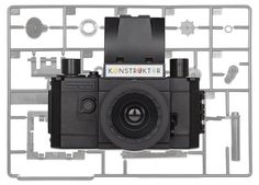 DIY kit that lets you build a SLR camera from scratch! http://www.walletburn.com/Konstruktor-DIY-Camera-Kit_681.html #photography #giftideas #lomography