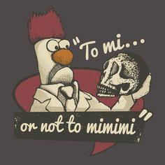 Beeker does Hamlet. Shakespeare Muppets
