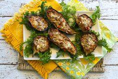Italian Food Forever » Stuffed Baby Eggplants