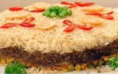 O Arroz 7 Camadas é delicioso, completo e perfeito para quem deseja inovar o arroz do dia a dia e também adora receitas práticas. Faça e confira! Veja Tamb