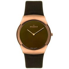 Skagen Men's 582XLRLM Swiss Movement Rose-tone Steel Brown Leather Watch Skagen, http://www.amazon.com/dp/B001WAKQME/ref=cm_sw_r_pi_dp_OgRdrb1FMCENH