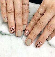 Stylish Nails, Trendy Nails, Cute Nails, My Nails, Nextgen Nail Colors, Leopard Nail Art, Korean Nails, Uñas Fashion, Nail Manicure