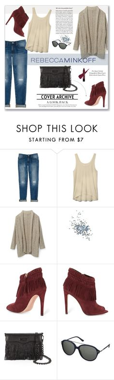"""""""Rebecca Minkoff's Spring 2016 Collection"""" by vidrica ❤ liked on Polyvore featuring Rebecca Minkoff, Topshop, KAROLINA, rebeccaminkoff and contestentry"""
