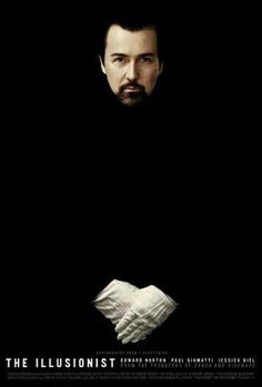Alternative movie poster for The Illusionist, made by Akiko Stehrenberger 18 Movies, Good Movies, Movie Tv, Period Drama Movies, Period Dramas, The Illusionist, Edward Norton, Best Movie Posters, Beautiful Posters