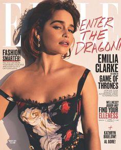 Emilia Clarke by Alexi Lubomirski, Elle, August 2017