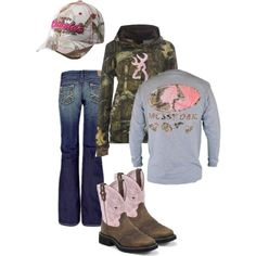 Browning/ Mossy Oak / Camo Outfit get my cali country on! Country Style Outfits, Country Wear, Country Girl Style, Country Fashion, My Style, Country Life, Country Chic, Camo Outfits, Cowgirl Outfits