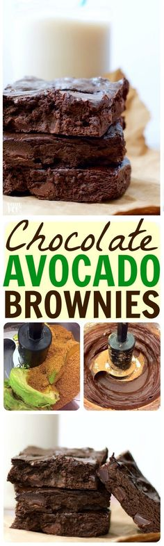 These avocado brownies are too good to be true!! SO rich and decadent...and guilt-free! High in healthy omega-3s & good fats, PLUS gluten free & dairy free!