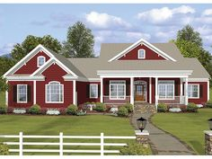 ePlans Ranch House Plan – Country Ranch With Amazing Bonus Space – 2294 Square Feet and 3 Bedrooms from ePlans – House Plan Code HWEPL77466