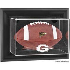 Georgia Bulldogs Fanatics Authentic Black Framed Wall-Mountable Football Display Case - $99.99