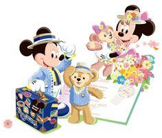 Mickey and Minnie travel