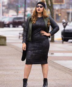 Stylish Plus-Size Fashion Ideas – Designer Fashion Tips Stylish Plus Size Clothing, Plus Size Fashion For Women, Plus Size Outfits, Curvy Girl Fashion, Womens Fashion, Fashion Trends, Fashion Ideas, Fashion 101, Fat Fashion
