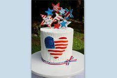 We Heart America- A July 4th Blog Tutorial