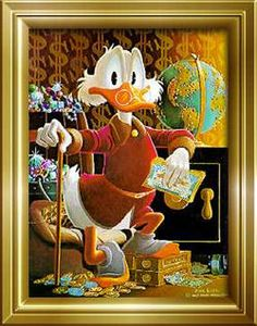 Cane | Wandelstok | Scrooge McDuck | Dagobert Duck | Carl Barks | 1947