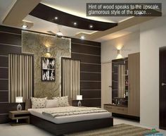 Browse images of classic Bedroom designs: Marvellous. Find the best photos for ideas & inspiration to create your perfect home. Bedroom Wall Designs, Bedroom False Ceiling Design, Luxury Bedroom Design, Bedroom Bed Design, Bedroom Layouts, Room Interior Design, Bad Room Design, House Design, Contemporary Bedroom