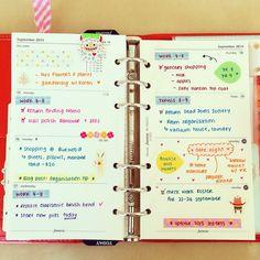 ☆ planner inserts