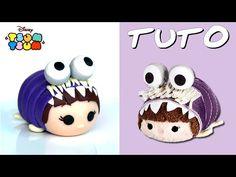 TUTO FIMO | Tsum Tsum Bouh déguisée (de Monstres et compagnie) - YouTube