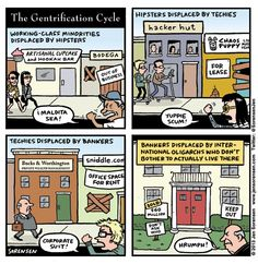Humorous take on #gentrification.