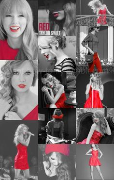 """i wear red for her. and I'm not kidding. every time i wear a red outfit i'm like, """"this is for the taylor haters"""""""