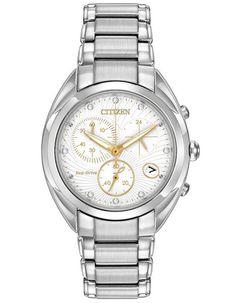 Citizen Eco-Drive L Celestial Diamond Chrono - Stainless Case   Bracelet -  Date. Hodinky RolexBijoux 8d09226a60a