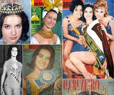 MISS BRASIL 1960 – Gina MacPherson - Rio de Janeiro