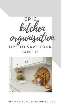 There are no hard and fast rules for organising kitchens. However, here are a few ways that will make your kitchen usable and easy to keep organised in the long run.