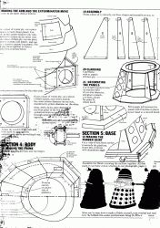 Complete blueprints for making your own full-size Dalek Dalek Costume, Doctor Who Costumes, Dr Who Costume, Doctor Who Craft, Doctor Who Dalek, Letters Of Note, Costume Tutorial, Model Train Layouts, Diy Costumes
