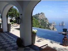 Villa Giulia in Capri - an amazing private villa for a wedding in Italy. Sugokuii Weddings Italy