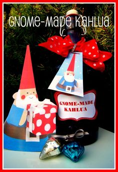 Gnome-made Kahlua (gift idea and recipe)