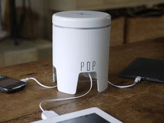 POP - The Intersection of Charging and Design by James Siminoff, via Kickstarter.