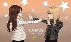 TYFanart   I draw only Taeyeon and sometimes GG members