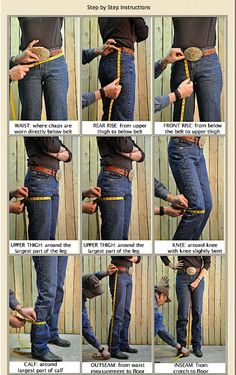 """How to measure for CHAPS Instructional Chart - """"Please See this First"""""""