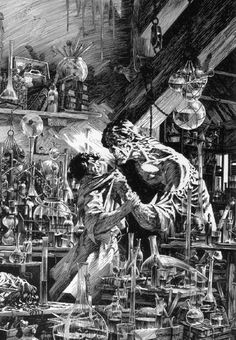Bernie Wrightson - FRANKENSTEIN - Mary Shelly