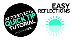 After Effects Tutorial | QUICK TIP | Easy Reflections