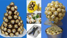 5 ideas con bombones Ferrero Rocher para Navidad | Aprender manualidades es facilisimo.com
