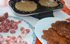 Traditionelles Speckendicken Essen zu Silvester