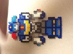Chase Rescue Bots perler beads