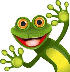Frog Illustrations and Clip Art. Frog royalty free illustrations, drawings and graphics available to search from thousands of vector EPS clipart producers. Funny Frogs, Cute Frogs, Frosch Illustration, Frog Drawing, Frog Pictures, Butterfly Clip Art, Frog Art, Chroma Key, Free Art Prints