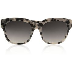 Stella McCartney Square-frame chain-embellished acetate sunglasses,... ($300) ❤ liked on Polyvore featuring accessories, eyewear, sunglasses, grey, mirror sunglasses, tortoiseshell sunglasses, mirrored glasses, square frame sunglasses and stella mccartney sunglasses