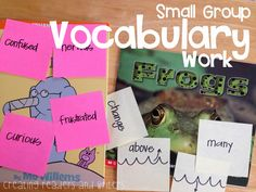 Fast Finds: A Vocabulary Activity for K-3 (Creating Readers and Writers Blog) #vocabulary #guidedreading