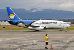 Canadian North Boeing 737-200 (C-GKCP) at Vancouver Intl. (CYVR)