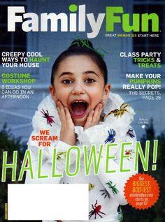 family fun magazine october 2016 costume workshop halloween pumpkins trick treat - Family Fun Magazine Halloween Crafts